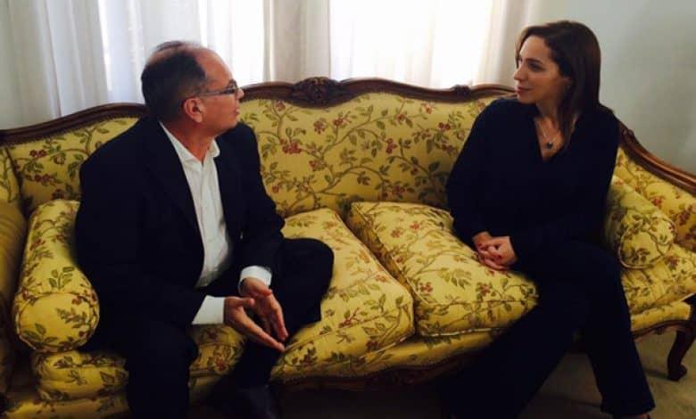 El intendente se reunió con la gobernadora María Eugenia Vidal 1