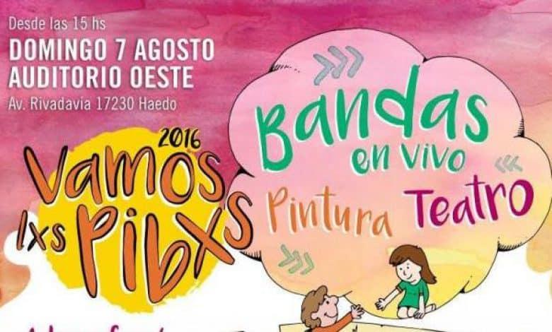 """Nueva edición del Festival """"Vamxs Lxs Pibxs"""" 1"""