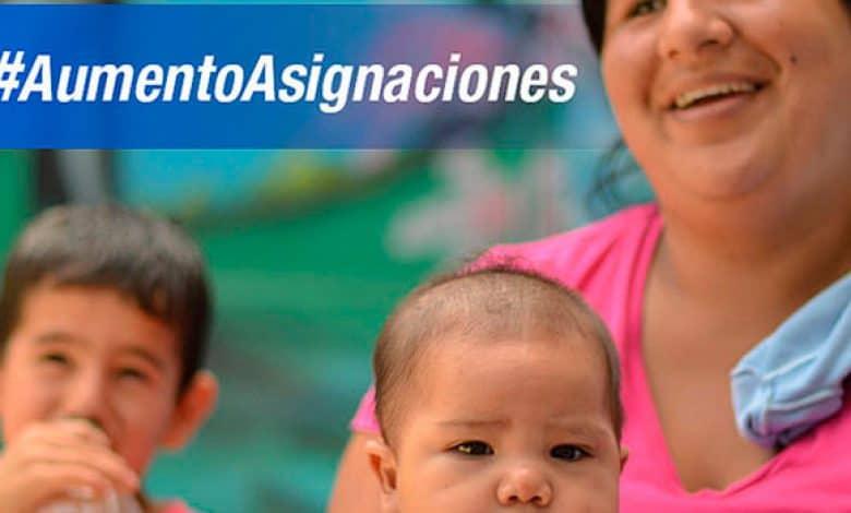 Las beneficiarias de la AUH cobrarán un bono de 1000 pesos más $ 250 por hijo 1