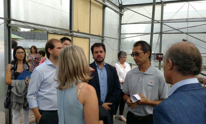 Funcionarios nacionales visitaron el Centro de Investigaciones del INTA 1