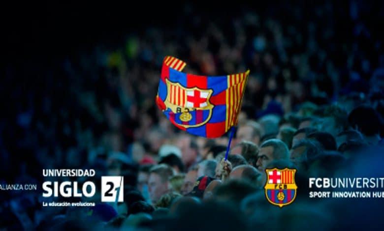 La Universidad Siglo 21 y Club Barcelona lanzan cursos online para profesionales del deporte 1