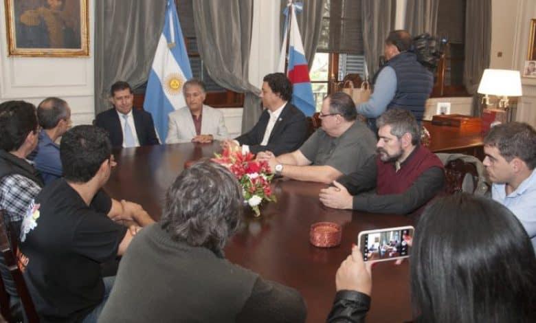 La Ciudad junto a Fadiccra fue recibida por el Gobernador de La Rioja, Sergio Casas 2