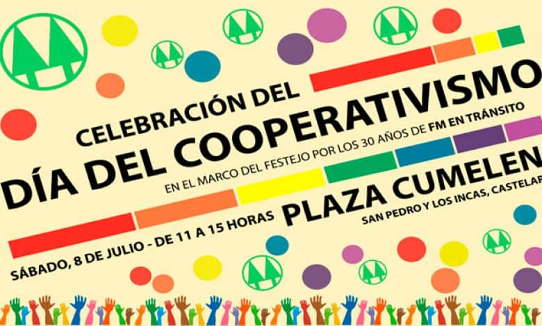 El sábado festejan el día del cooperativismo en Castelar 1