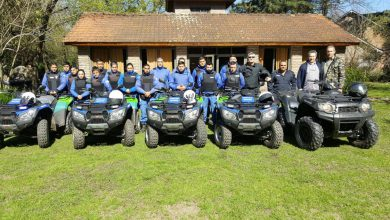 Nuevos cuatriciclos para patrullar Parque Leloir 1