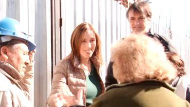 La Gobernadora Vidal recorrió hoy el centro de Ituzaingó 9