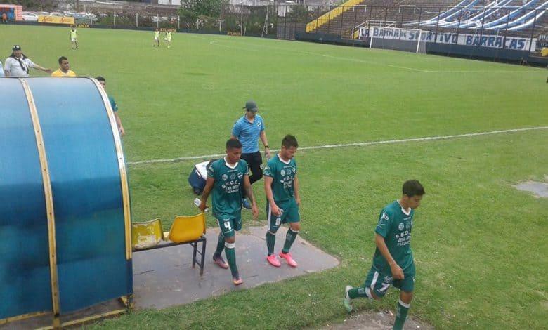 Ituzaingó perdió con Sportivo Barracas 2 a 0. 1