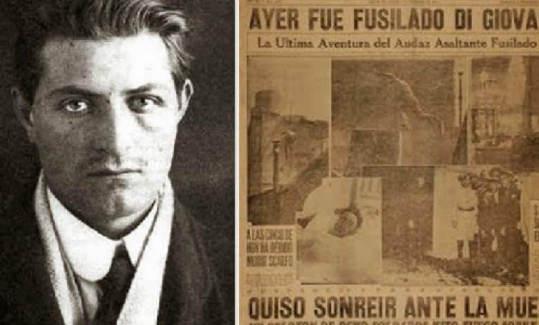 Severino Di Giovanni, el anarquista más famoso del país vivió en Ituzaingó 2