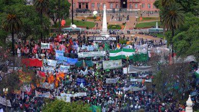 Cambio de fecha: La marcha de los gremios opositores será el miércoles 21 de febrero 8