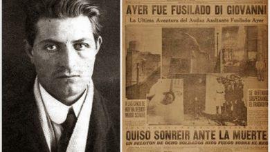 Un día como hoy fusilaban a Severino Di Giovanni, el anarquista más famoso que vivió en Ituzaingó 26