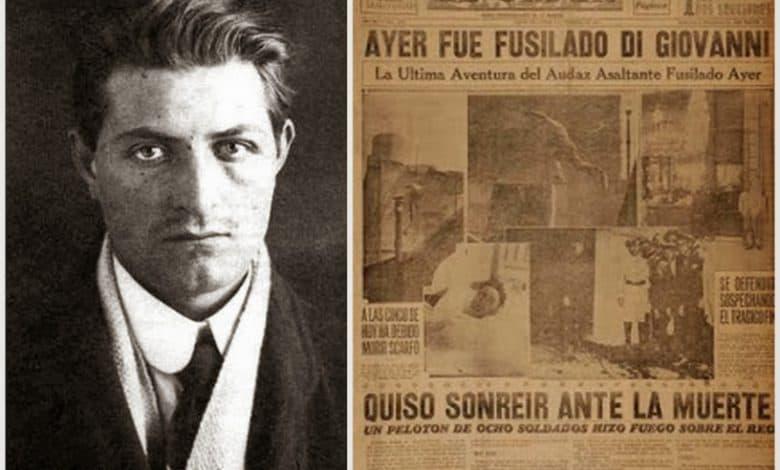 Un día como hoy fusilaban a Severino Di Giovanni, el anarquista más famoso que vivió en Ituzaingó 2
