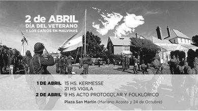 Se realizará una Vigilia y un acto en la Plaza San Martín a 36 años de la guerra de Malvinas 33