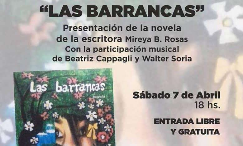 """Mañana se presentará en Ituzaingó el libro """"Las barrancas"""" 2"""