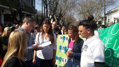 Marcha de las Organizaciones sociales al HCD de Ituzaingò 5