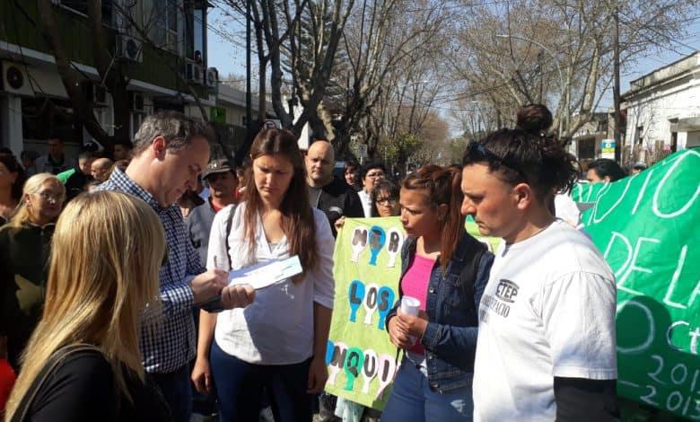 Marcha de las Organizaciones sociales al HCD de Ituzaingò 2