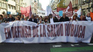Hoy se realizará la Marcha Federal en Defensa de la Salud Pública 7