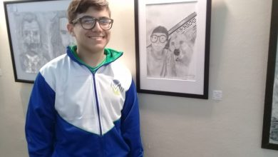 Juan Ignacio, el joven artista de Ituzaingó que recibió una mención en los Juegos Bonaerenses 3