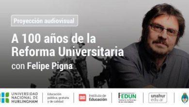 Felipe Pigna presenta un documental en la UNAHUR 7