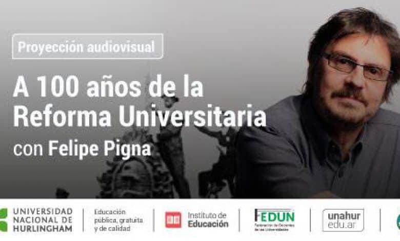Felipe Pigna presenta un documental en la UNAHUR 2