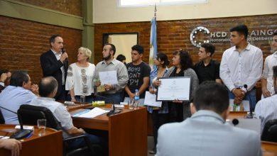 El Concejo Deliberante de Ituzaingó reconoce a los alumnos de la Técnica N°1 9