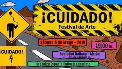 Se realiza en la Sociedad Italiana de Morón el evento '¡Cuidado! Festival de arte' 9