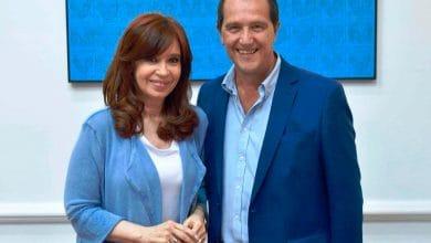 Ariel Basteiro se reunió con Cristina en el Instituto Patria 31