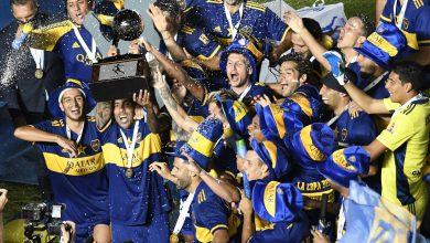 Boca campeón de la Copa Diego Maradona 6