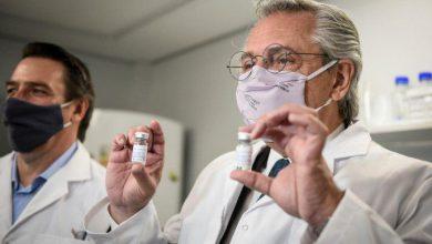 Alberto Fernández visitó el laboratorio de la UNSAM donde se desarrolló el suero equino para el tratamiento del Covid 1