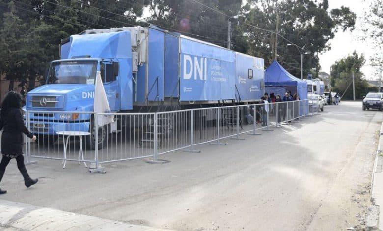 El camión para tramitar el DNI estará en Villa Udaondo desde este sábado hasta el lunes 2