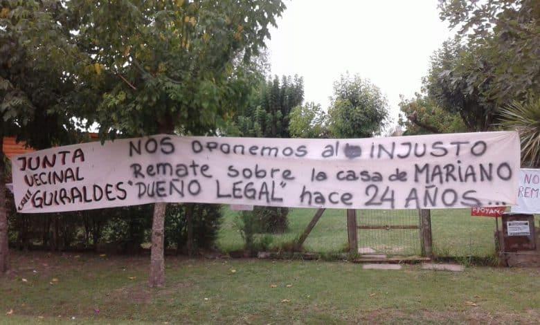 Un barrio entero en Villa Udaondo quiere impedir el injusto desalojo de una familia 4