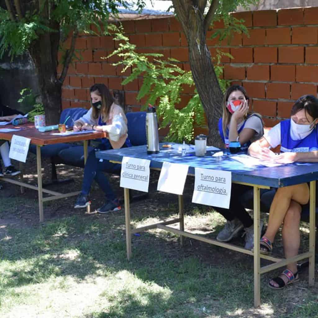 Ituzaingó: Sigue la campaña de salud gratuita, hoy en el Barrio Los Cardales 5