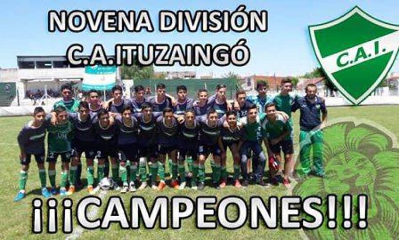 Ituzaingó grito campeón en 9° división 1