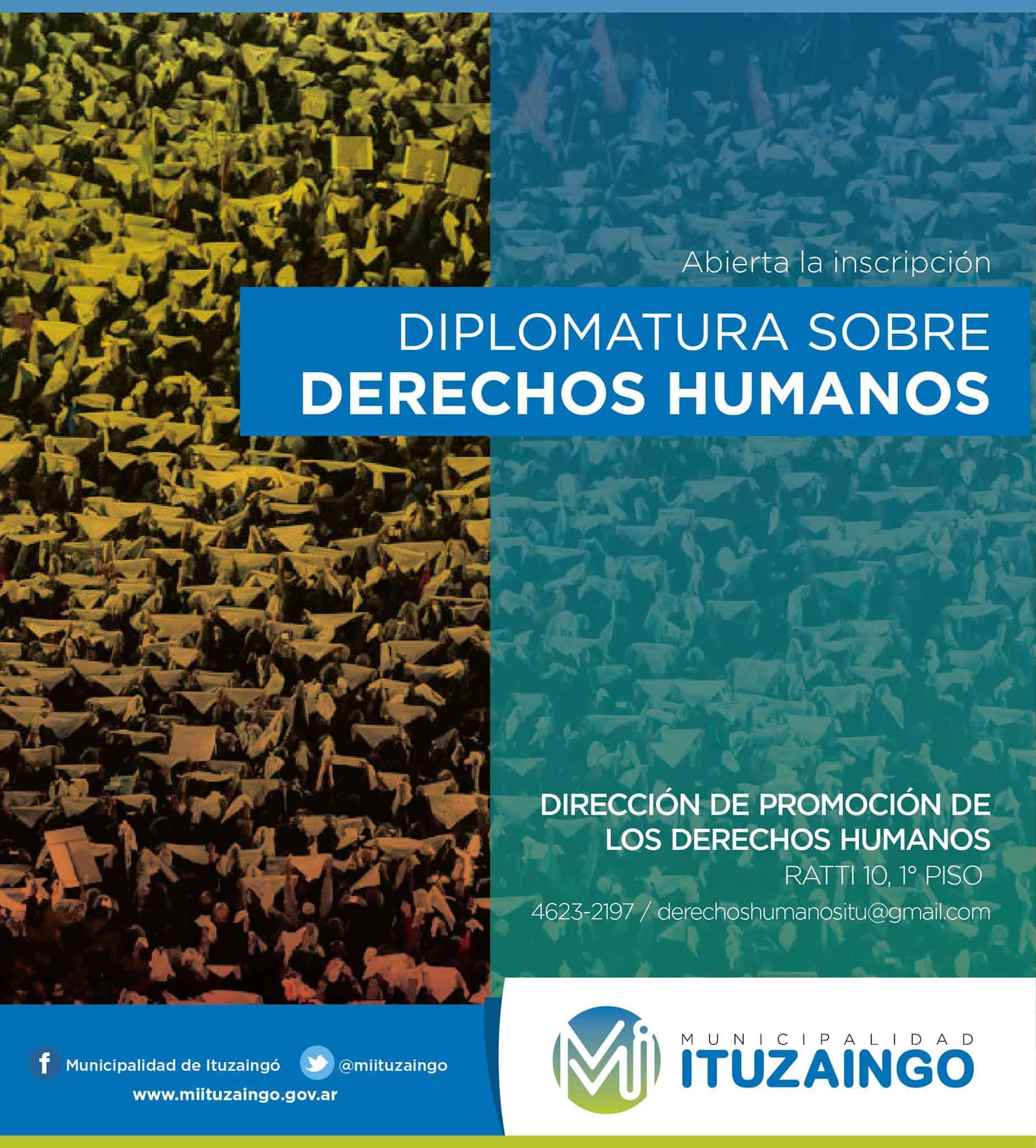 Hoy abre la inscripción para la Diplomatura sobre DDHH 3