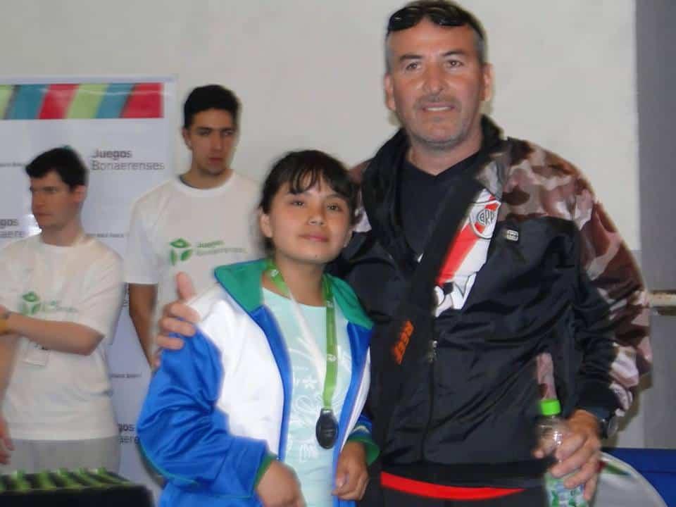 Brenda Rocha, medalla de Plata en los Juegos Bonaerenses 4