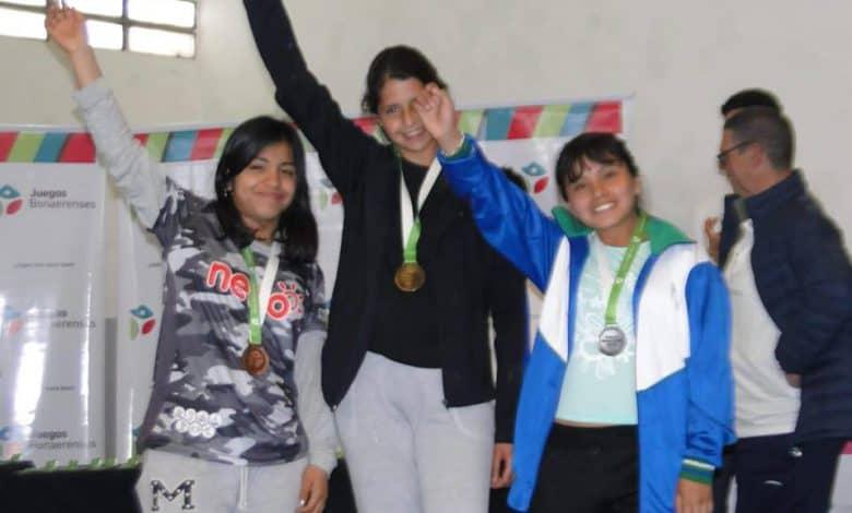 Brenda Rocha, medalla de Plata en los Juegos Bonaerenses 2