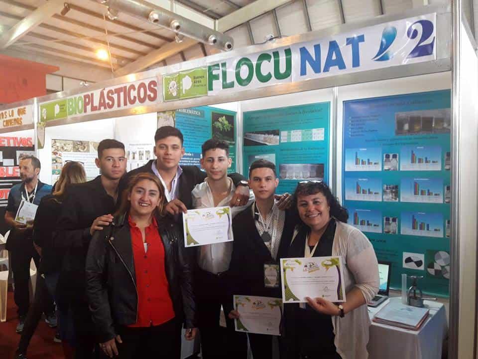 Los alumnos de la Técnica N°1 siguen ganando y competirán en la Feria Nacional de Ciencias 3