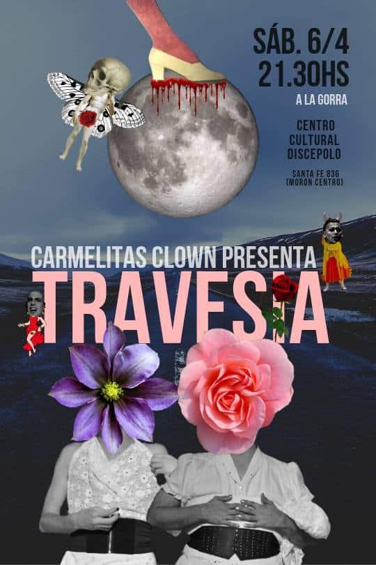 El espectáculo teatral y disidente 'Travesía' se presenta esta noche en Morón 3