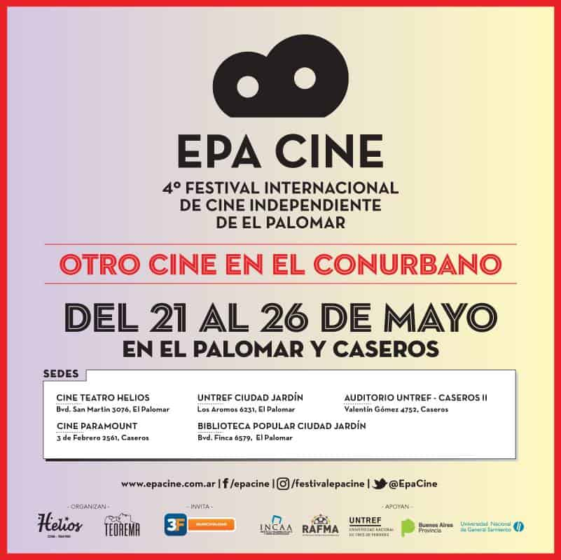 Esta semana en el Oeste se realiza la 4° edición del EPA Cine 3