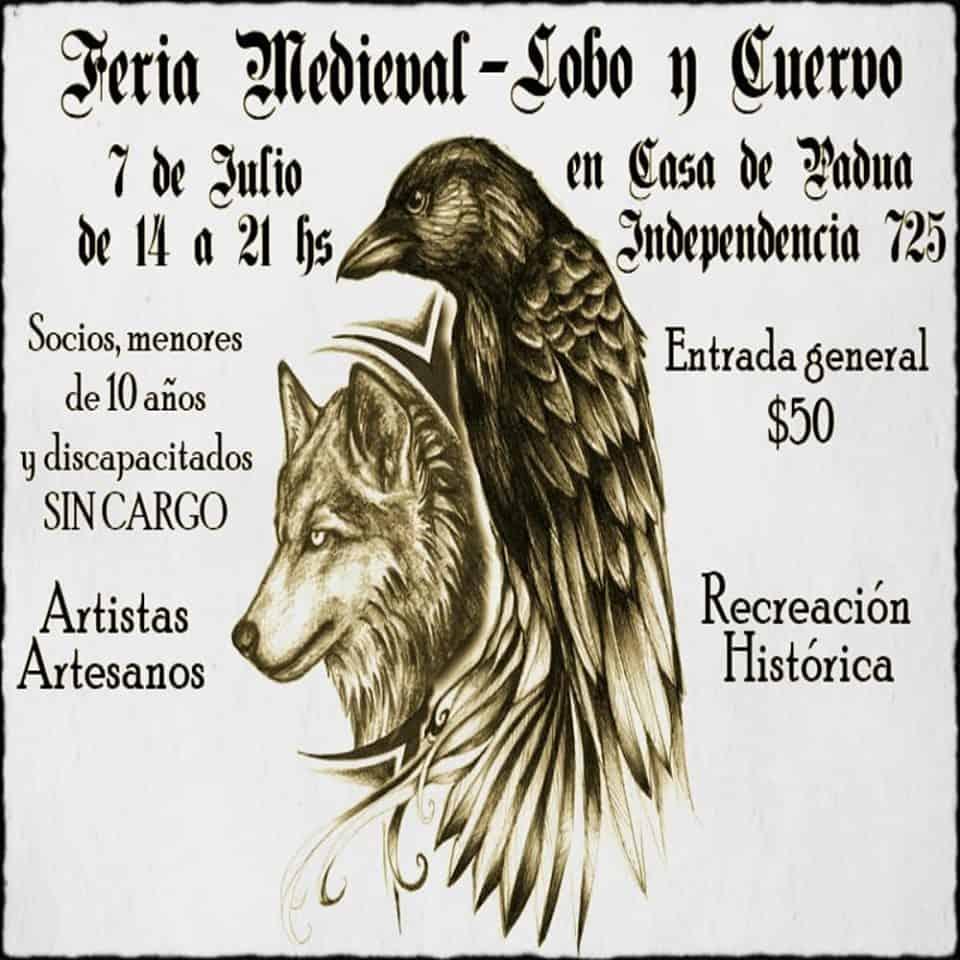 'Lobo y Cuervo': Cómo se compone la Feria Medieval que llega a Padua 3