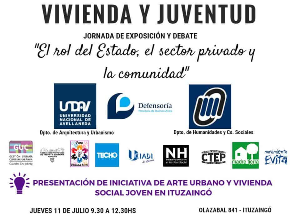 """Ituzaingó: Charla debate sobre """"Vivienda y Juventud"""" 3"""