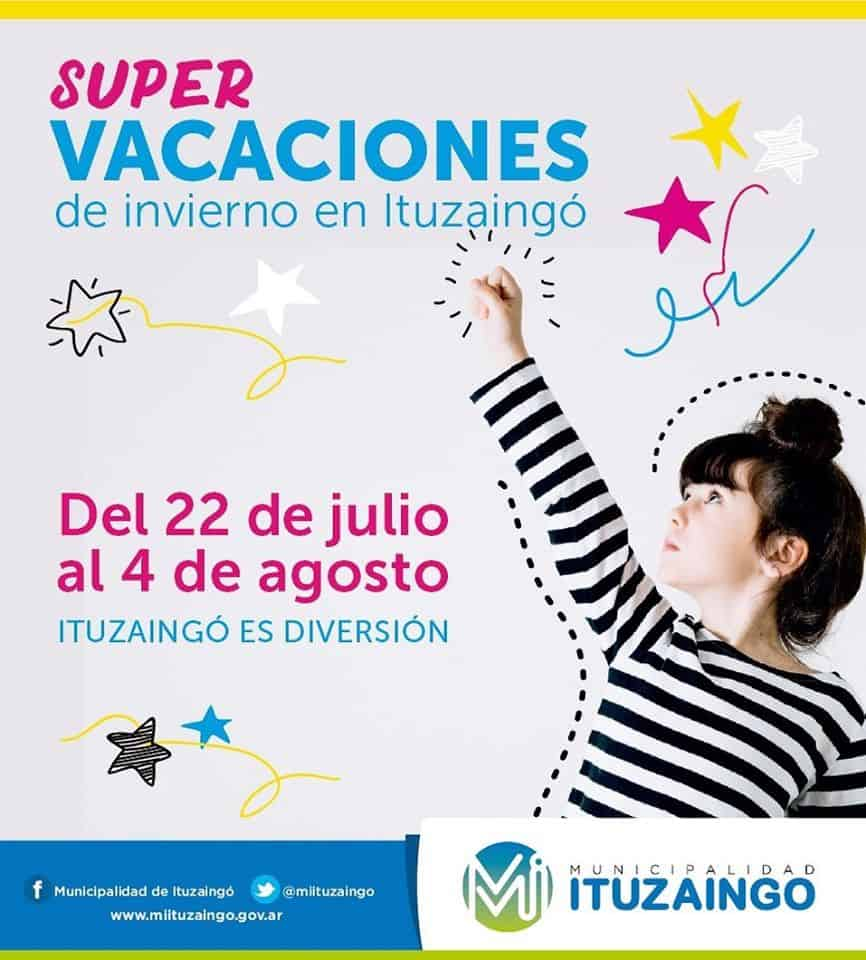 Ituzaingó: actividades gratuitas hoy viernes en las vacaciones de invierno 3