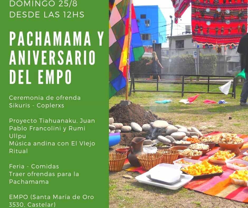 Este domingo se celebra la Pachamama en el Gorki Grana 3