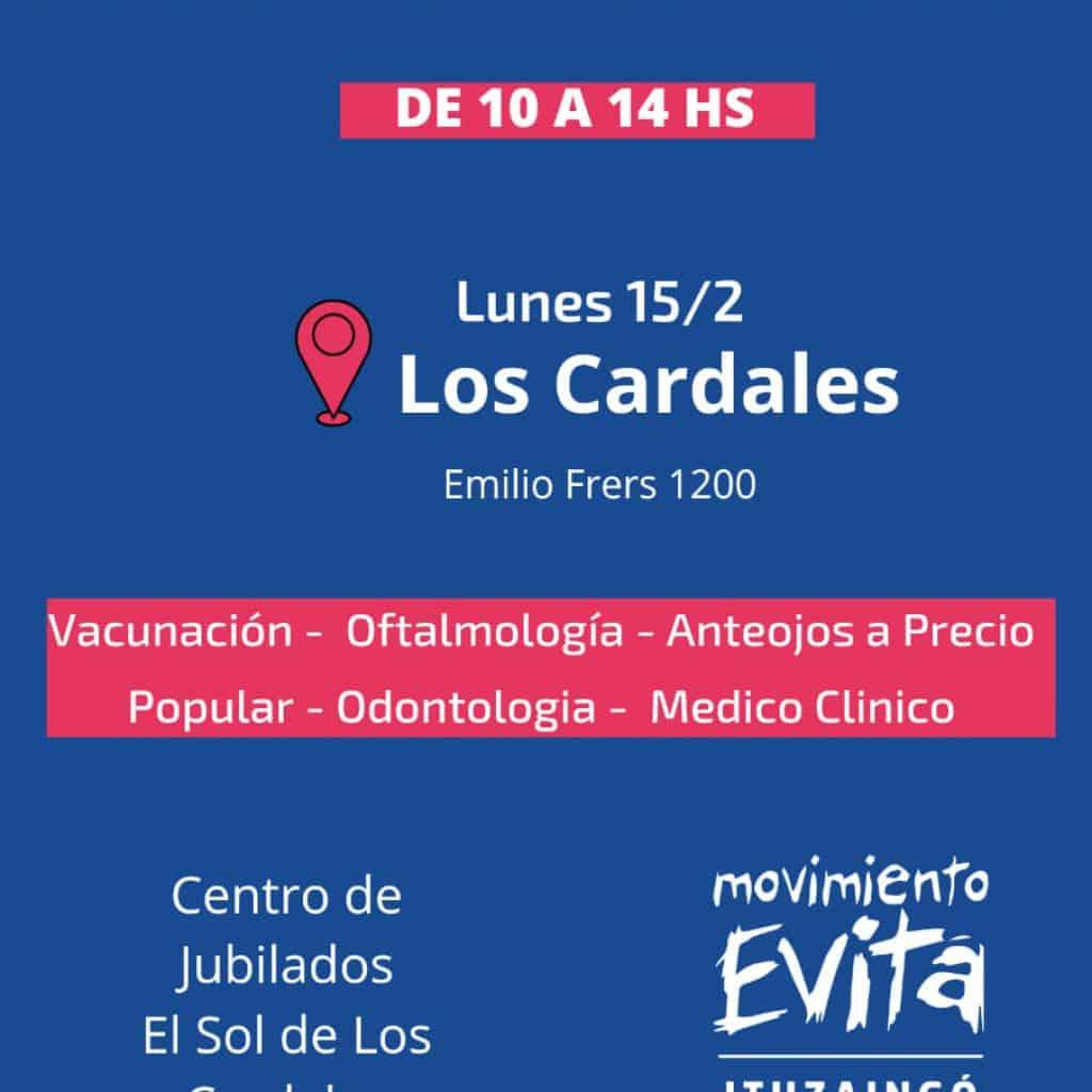 Ituzaingó: Sigue la campaña de salud gratuita, hoy en el Barrio Los Cardales 6