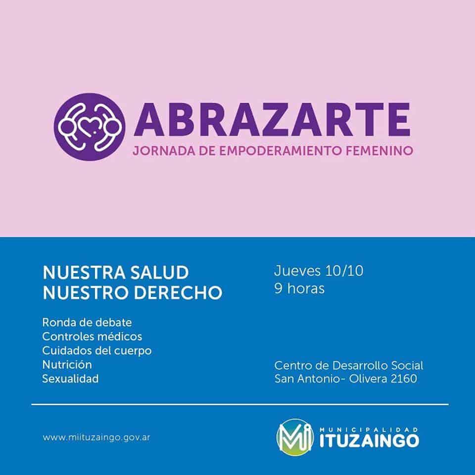 """Llega """"Abrazarte"""", la segunda jornada de empoderamiento femenino 3"""
