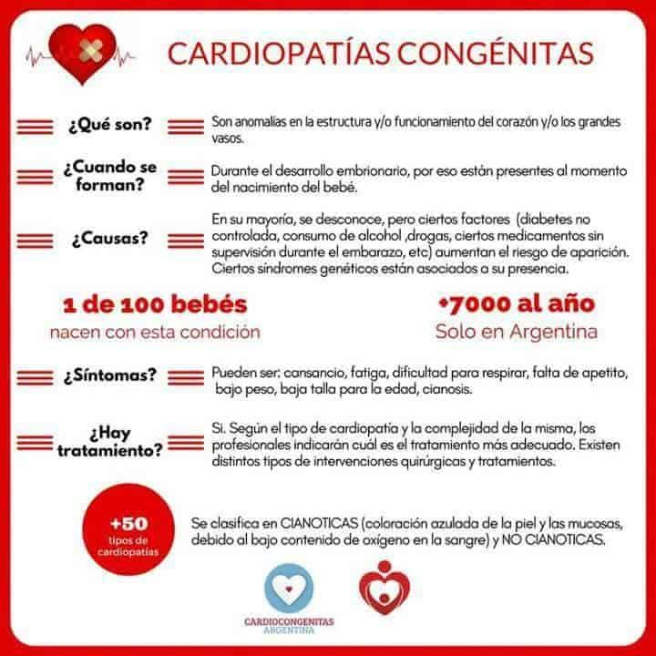 """Cardiocongenitas Argentina lucha por sancionar la """"Ley Cardio"""" 7"""