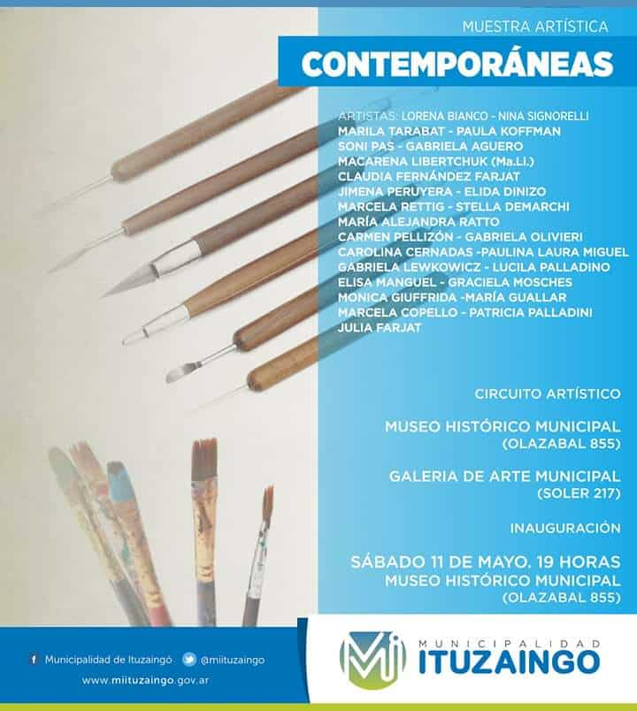 Se inaugura en el Museo de Ituzaingó la muestra 'Contemporáneas' 3