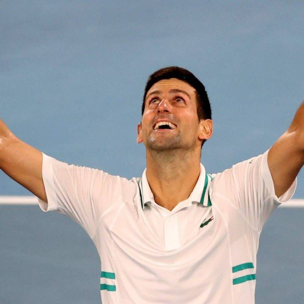 Djokovic se consagró campeón en Australia por novena vez 2