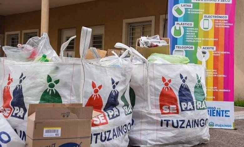 Ituzaingó SePaRa, una forma de reciclar y limpiar el barrio 1