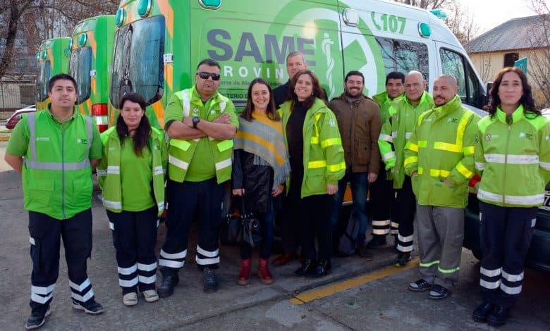 Hay acuerdo para que el SAME llegue a Ituzaingó con 4 ambulancias 1