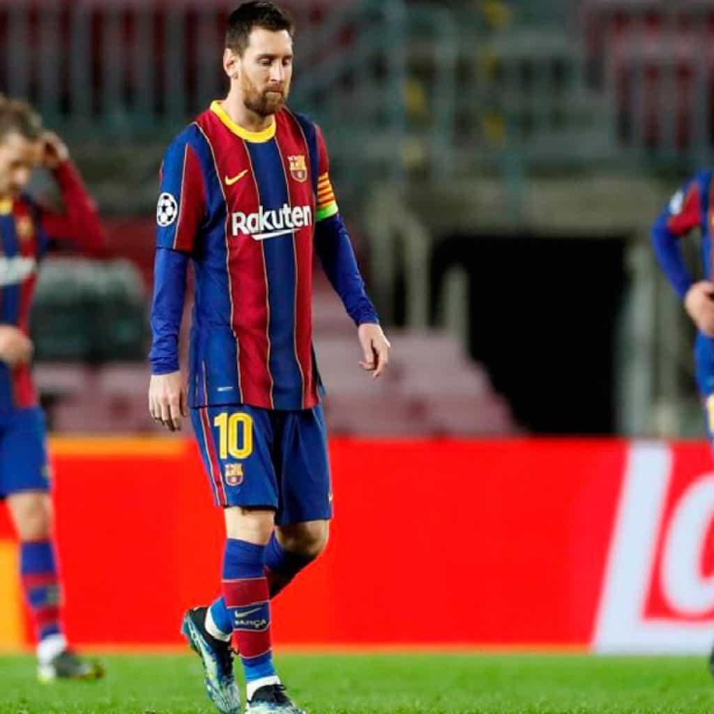 El Barsa cayó en el Camp Nou y hay incertidumbre sobre el futuro de Messi 2