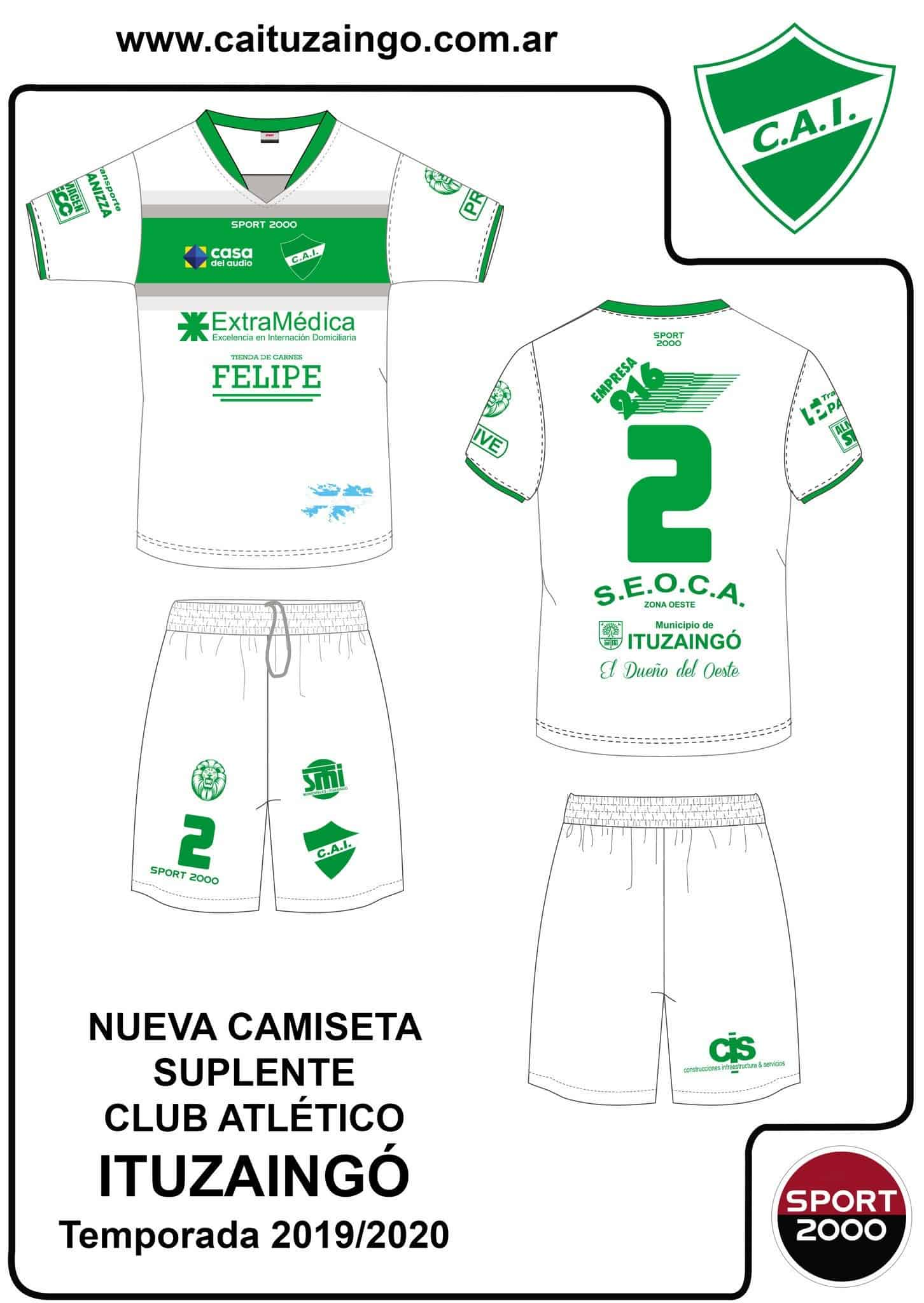 Ituzaingó sigue ganando amistosos y ya se conoce el fixture y la nueva camiseta del CAI 5